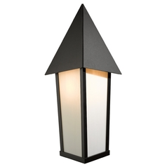 Hubbardton Forge Lighting Elton Black Outdoor Wall Light