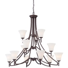 Minka Middlebrook Vintage Bronze Chandelier