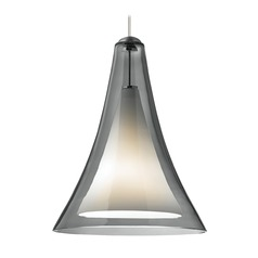 Melrose Satin Nickel Mini-Pendant Light by Tech Lighting 12V
