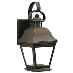 Kichler Lighting Kichler 12-1/2-Inch Outdoor Wall Light 9707OZ