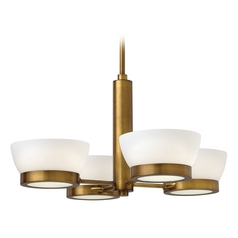 Hinkley Lighting Mercer Heritage Brass Chandelier