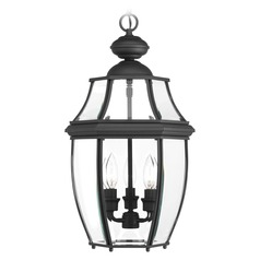 Progress Lighting New Haven Black Outdoor Hanging Light