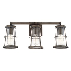 Capital Lighting Beaufort Nordic Grey Bathroom Light