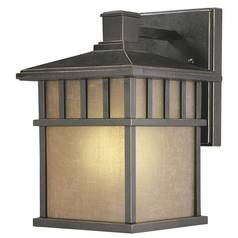10-1/2-Inch Fluorescent Outdoor Wall Light
