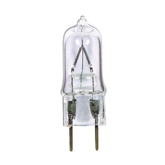 Clear Halogen T4 Light Bulb - 35-Watts