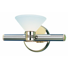 Lite Source Regal Chrome Sconce