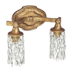 Capital Lighting Blakely Antique Gold Bathroom Light