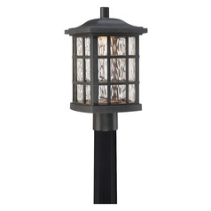 Quoizel Lighting Stonington LED Matte Black Post Light
