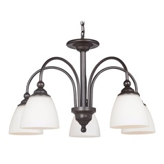 Craftmade Lighting Brighton Espresso Chandelier