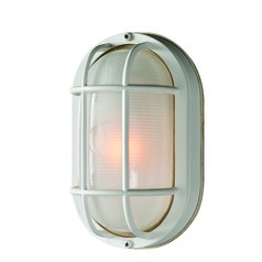 Jetty White Outdoor Wall Light by Kenroy Home