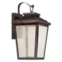 Minka Lavery Irvington Manor Chelesa Bronze LED Outdoor Wall Light
