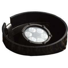 Kichler LED In-Ground Well Light in Textured Black Finish