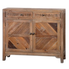 Uttermost Hesperos Reclaimed Wood Console Cabinet