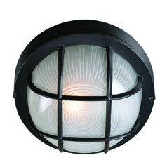 Drift Black Outdoor Wall Light by Kenroy Home