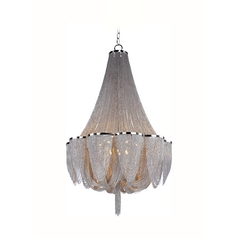 Maxim Lighting Chantilly Polished Nickel Chandelier