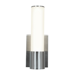 Access Lighting Aqueous Brushed Steel LED Sconce