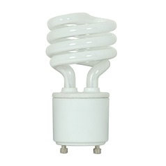 Compact Fluorescent Spiral Light Bulb GU24 Base 2700K 120V by Satco Lighting