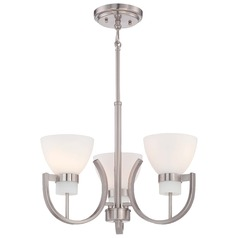 Minka Hudson Bay Brushed Nickel Mini-Chandelier