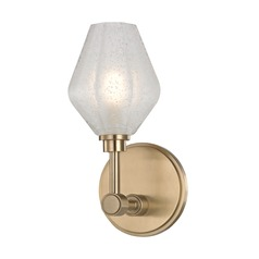 Hudson Valley Lighting Orin Aged Brass LED Sconce
