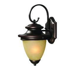 Mia Oil Rubbed Bronze Outdoor Wall Light by Kenroy Home