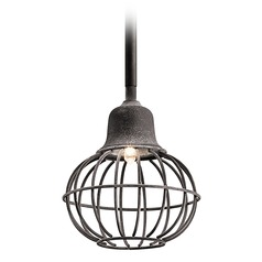 Kichler Lighting Weathered Zinc LED Mini-Pendant Light