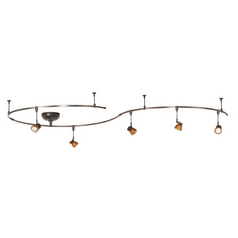 Wac Lighting Dark Bronze Rail Kit