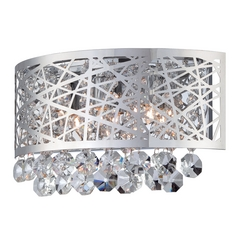 Lite Source Lighting Benedetta Chrome Sconce
