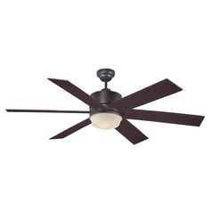 Savoy House English Bronze Ceiling Fan with Light