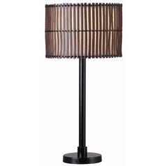 Kenroy Bora Bronze Outdoor Table Lamp