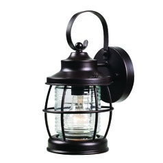 Sidelight Oil Rubbed Bronze Outdoor Wall Light by Kenroy Home