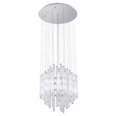 Eglo Alexandria Chrome Multi-Light Pendant