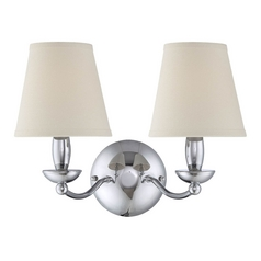 Lite Source Lighting Althea Chrome Wall Lamp