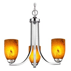 Design Classics Dalton Fuse Chrome Mini-Chandelier