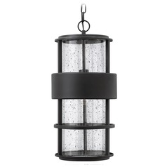 Hinkley Lighting Saturn Satin Black Outdoor Hanging Light
