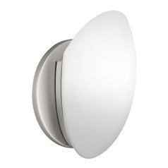 Kichler 8-Inch Single-Light Sconce with LED Bulb