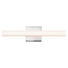 Sonneman Lighting Sq-Bar Polished Chrome LED Bathroom Light