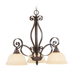 Livex Lighting Manchester Imperial Bronze Chandelier