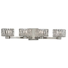 Anson 4 Light Bathroom Light - Satin Nickel