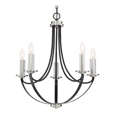 Quoizel Lighting Alana Mystic Black Chandelier