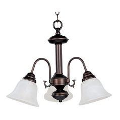 Maxim Lighting Malibu Oil Rubbed Bronze Mini-Chandelier