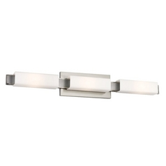 Feiss Lighting Talia Brushed Steel Bathroom Light