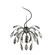 Golden Lighting Palm Graphite Pendant Light