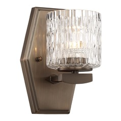 Minka Lavery Maginot Polished Nickel LED Sconce
