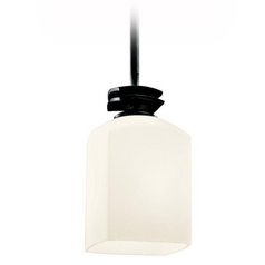 Kichler Lighting Kichler Transitional Single-Light Mini-Pendant with Square Glass 42265AVI