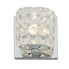 Access Lighting Prizm Chrome Sconce