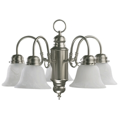 Quorum Lighting Satin Nickel Mini-Chandelier