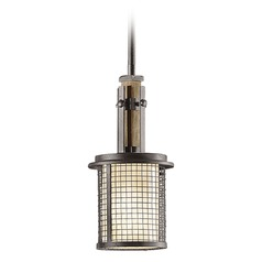 Kichler Lighting Ahrendale Mini-Pendant Light with Cylindrical Shade