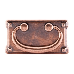 Cabinet Pull in Old English Copper Finish