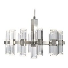 Kuzco Lighting Holm Polished Nickel LED Chandelier
