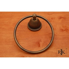 Beaded Bell Base Towel Ring